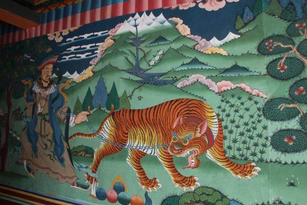 Mit dem Tiger tanzen...